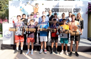 20. ÇUKUROVA CUP'TA TÜRK TENİSÇİLERİMİZ ÇİFTLER ŞAMPİYONU
